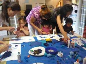 Toddler Art Class - Blue!