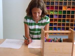 encouraging kids to write thoughtfully
