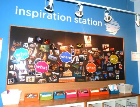 Inspiration Station Wall