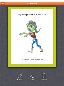 a book about a great babysitter