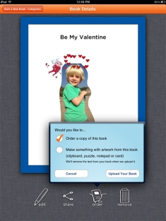 Free bookmaking App for the iPad