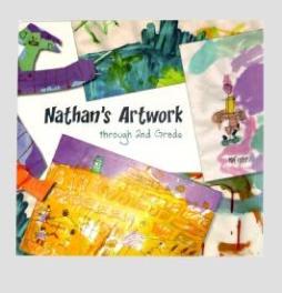 Custom gallery art book